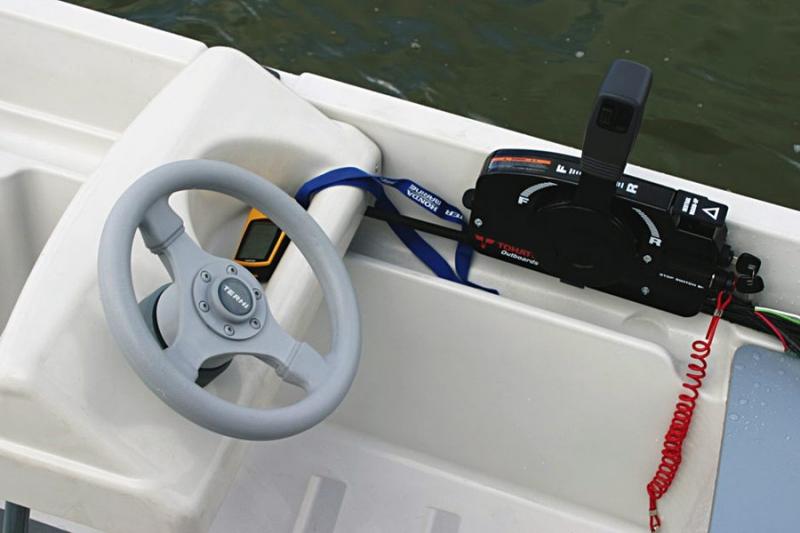 рулевое устройство для лодки пвх