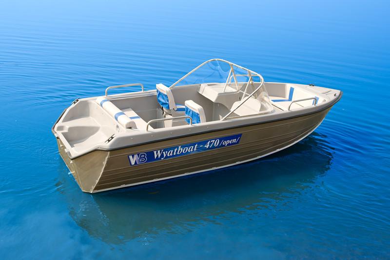 моторные открытие лодки