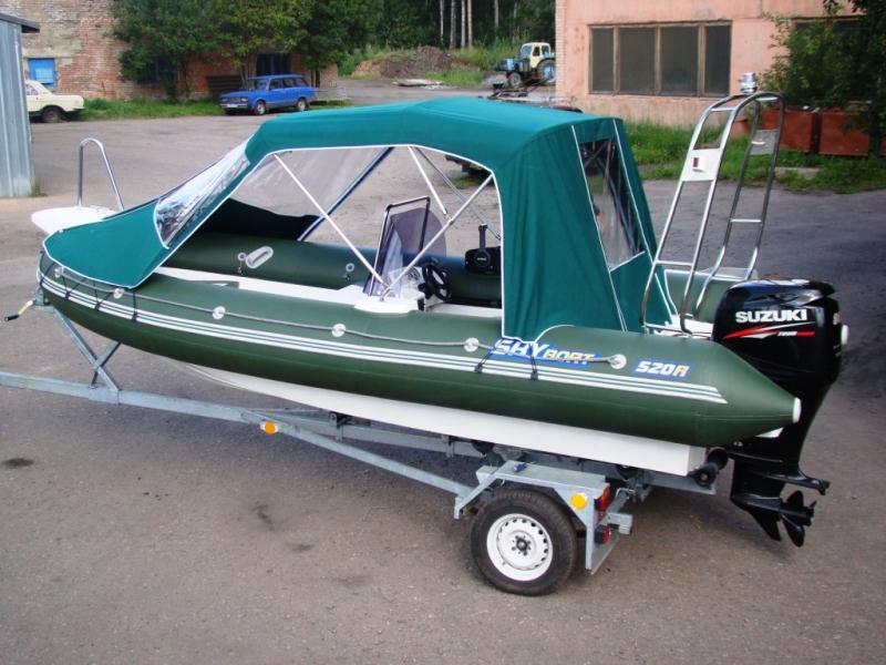 риб катера и лодки