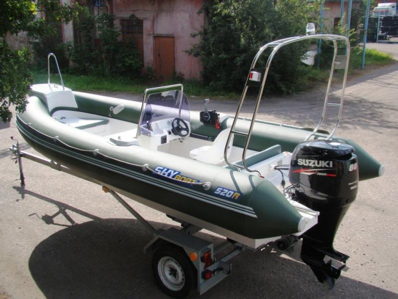 лодки риб скайбот фото