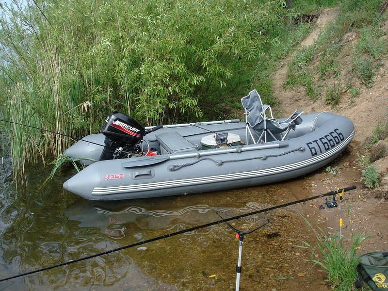 кайман-360 лодка