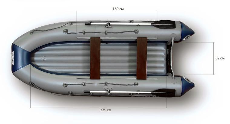 лодка надувная нднд флагман 400u