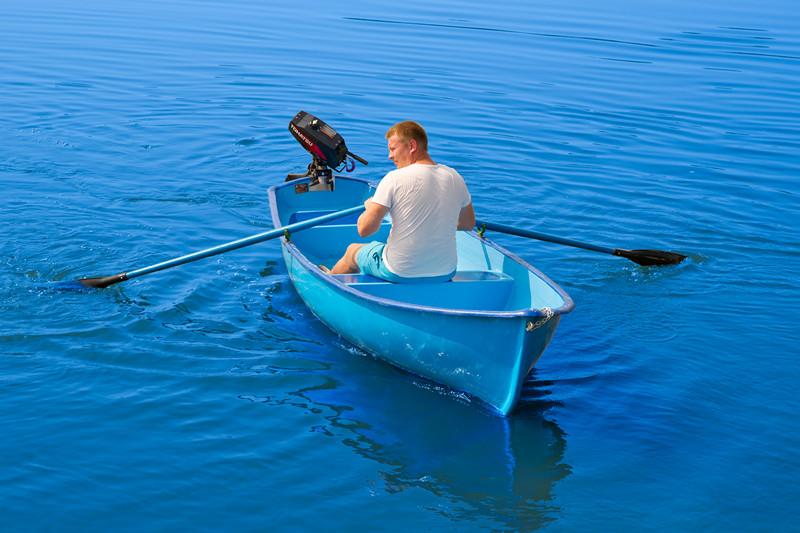 лодка для большой воды