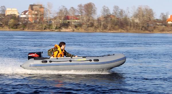 выбор лодки и мотора для рыбалки одному