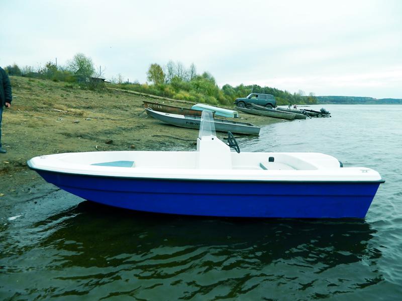 пластик лодка вятбот