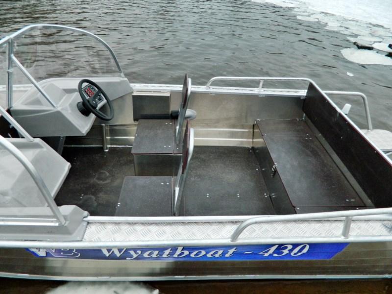 лодки и катера с пробегом
