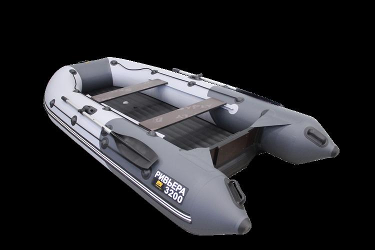 моторно-гребная лодка с мотором