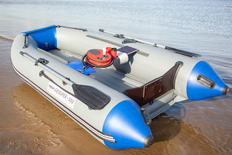 лодка пвх с надувным дном под мотор 300