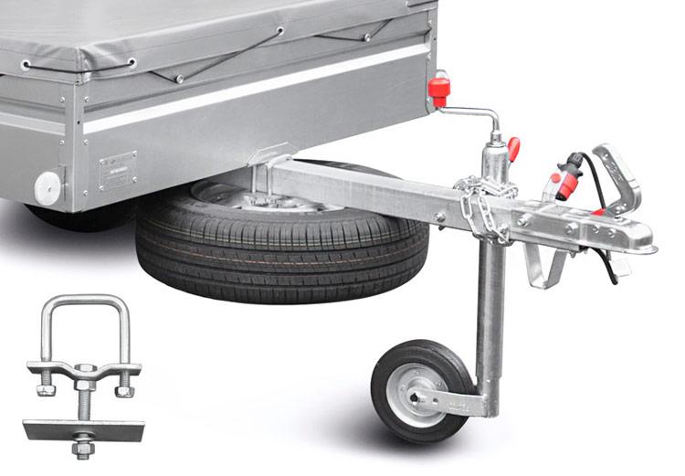 Как сделать колеса для прицепа
