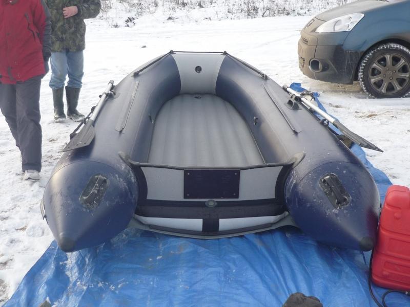 пвх лодка компас 380 с надувным дном