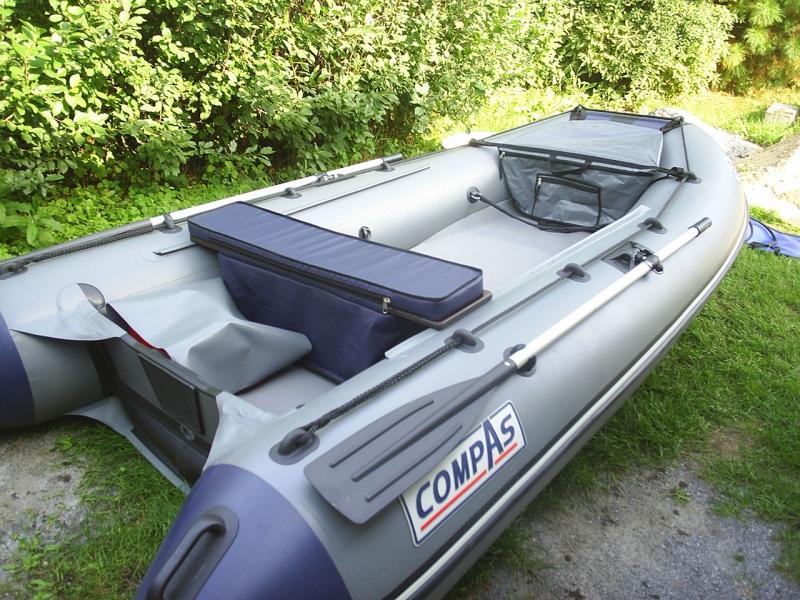 пвх лодки с надувным дном низкого давления 380 компас s