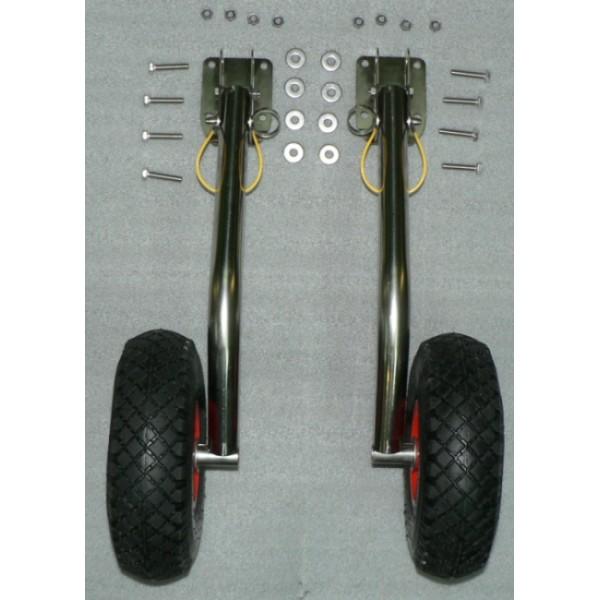 транцевые колеса с поворотом