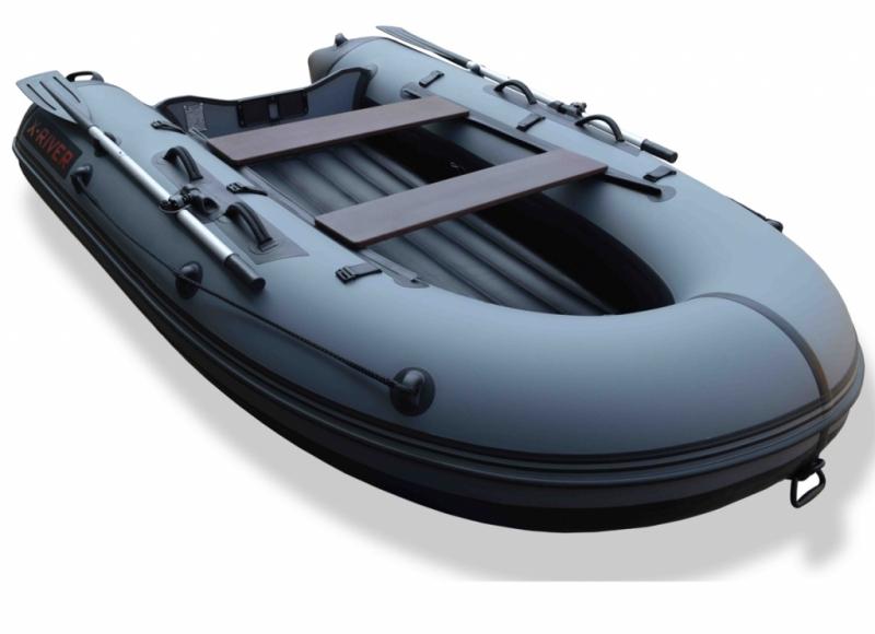 купить лодку с надувным дном низкого давления флагман