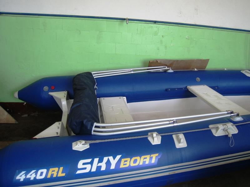 тент для лодки 440