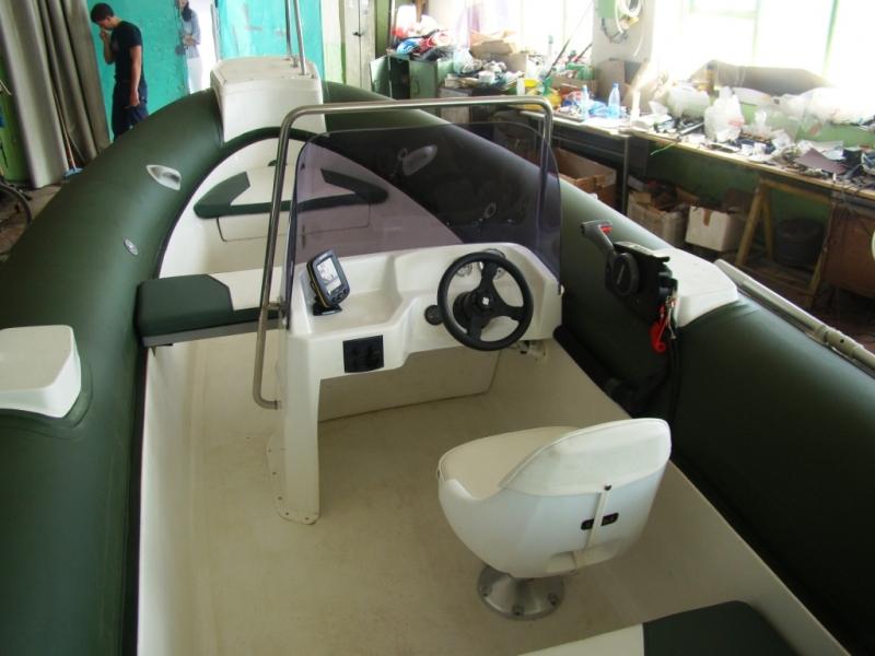 установка управления лодок пвх