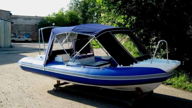 лодка с мотором с тентом honda